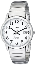 Timex Men's Easy Reader Silver-Tone Expansion Band Watch